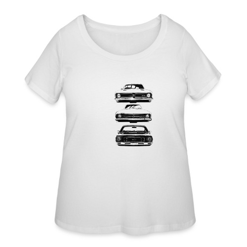 monaro over - Women's Curvy T-Shirt