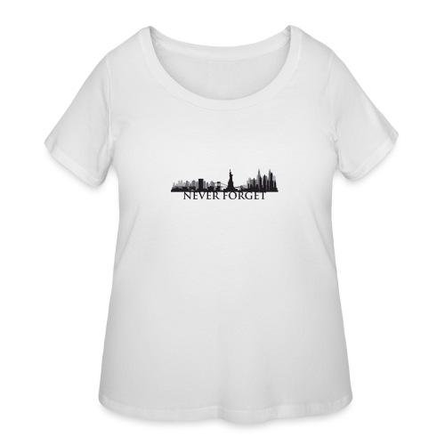 New York: Never Forget - Women's Curvy T-Shirt