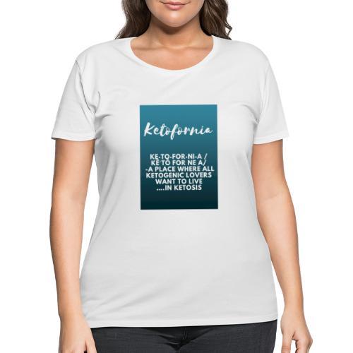 Ketofornia - Women's Curvy T-Shirt