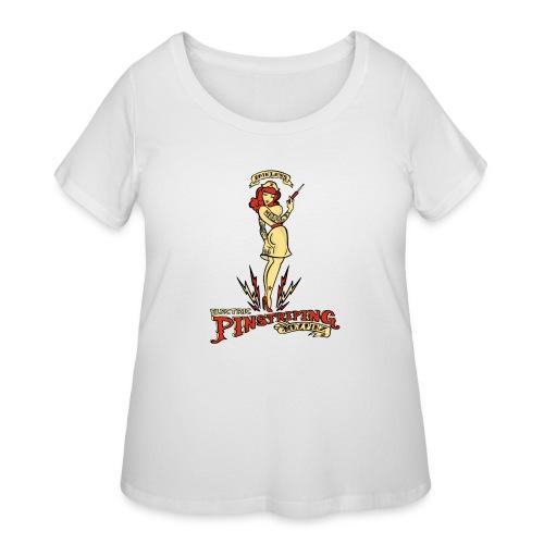 Painless Electric Pinstriping - Women's Curvy T-Shirt