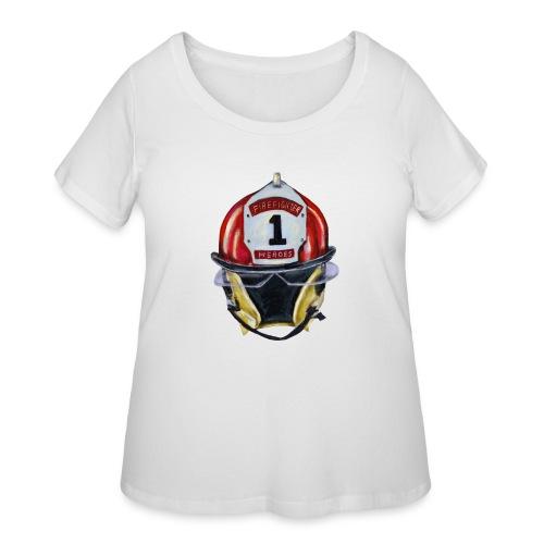 Firefighter - Women's Curvy T-Shirt
