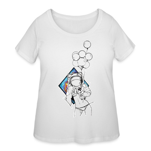 Astronaute - Art'Norme - Women's Curvy T-Shirt