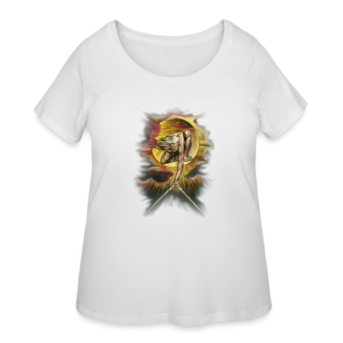 William Blake's The Ancient of Days - Women's Curvy T-Shirt