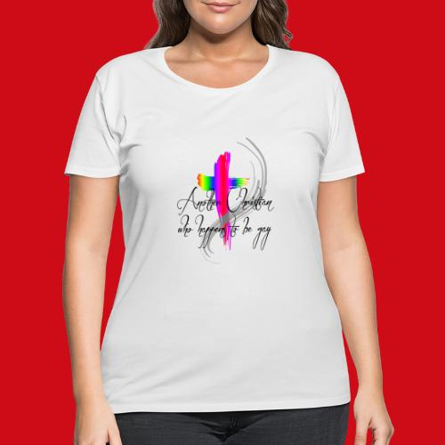 Another Gay Christian - Women's Curvy T-Shirt