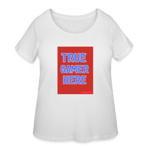 58722AF6 0345 4B70 A70B FBF270884866 - Women's Curvy T-Shirt