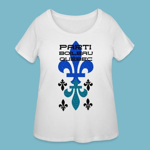 party boileau 9 - Women's Curvy T-Shirt