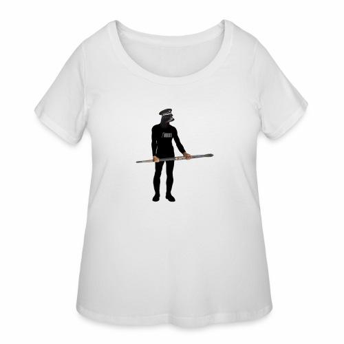 Seal Artist - Women's Curvy T-Shirt