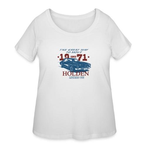 HQ RETRO GTS - Women's Curvy T-Shirt