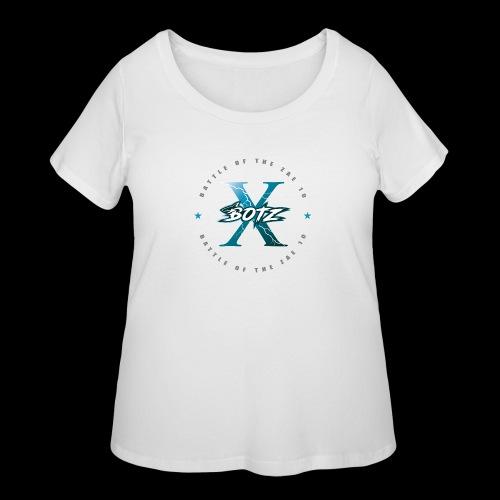 BOTZ X Circle Logo - Women's Curvy T-Shirt