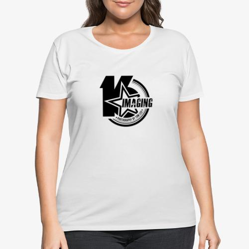 16IMAGING Badge Black - Women's Curvy T-Shirt