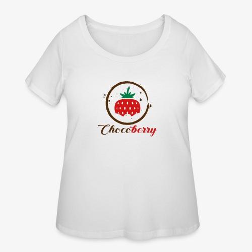 Chocoberry - Women's Curvy T-Shirt