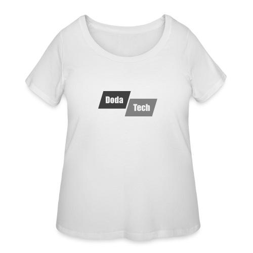 DodaTech Logo - Women's Curvy T-Shirt