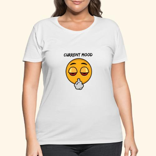 CURRENT MOOD - Women's Curvy T-Shirt