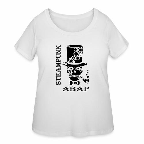 Steampunk Skull - Women's Curvy T-Shirt