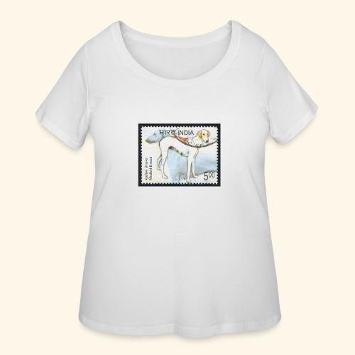 India - Mudhol Hound - Women's Curvy T-Shirt