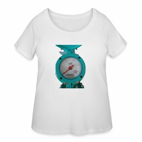 Meter - Women's Curvy T-Shirt