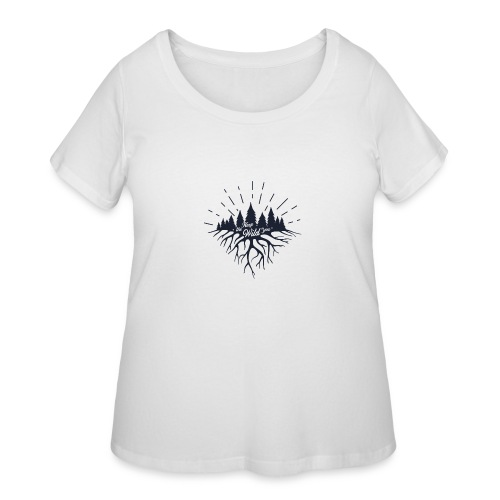 Keep the Wild in You T-shirts and Products - Women's Curvy T-Shirt