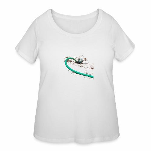 Water Pump - Women's Curvy T-Shirt