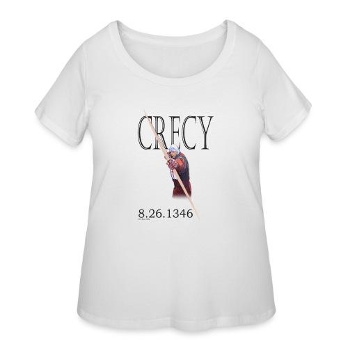 Crecy Standard Men's T - Women's Curvy T-Shirt