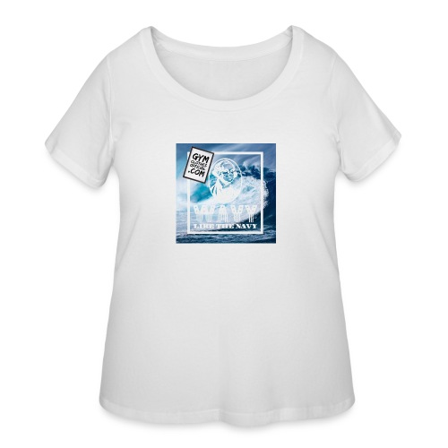 Wavy - Women's Curvy T-Shirt