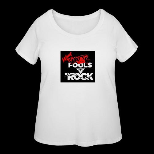 Fool design - Women's Curvy T-Shirt