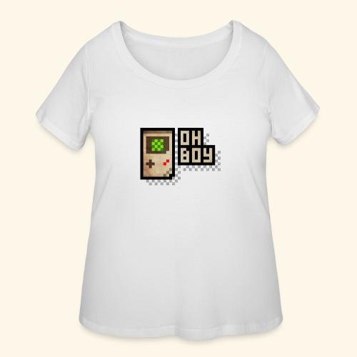 Oh Boy - Women's Curvy T-Shirt