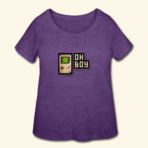 Oh Boy - Women's Curvy T-Shirt