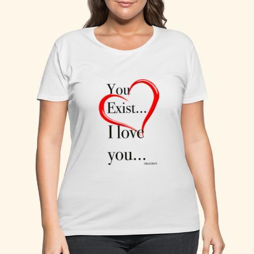 Exist - Women's Curvy T-Shirt