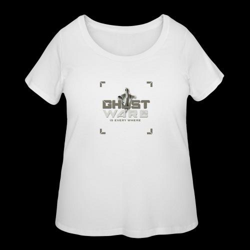 Ghostware Square Logo - Women's Curvy T-Shirt
