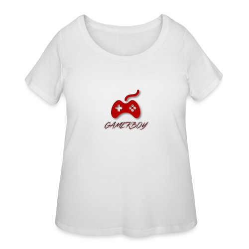 Gamerboy - Women's Curvy T-Shirt