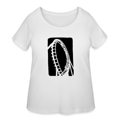 Roller Coaster - Women's Curvy T-Shirt