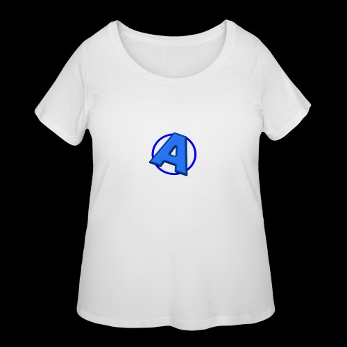 Awesomegamer Logo - Women's Curvy T-Shirt