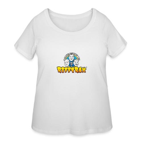 RiffTrax Made Funny By Shirt - Women's Curvy T-Shirt