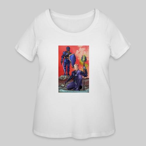 ELF AND KNIGHT - Women's Curvy T-Shirt