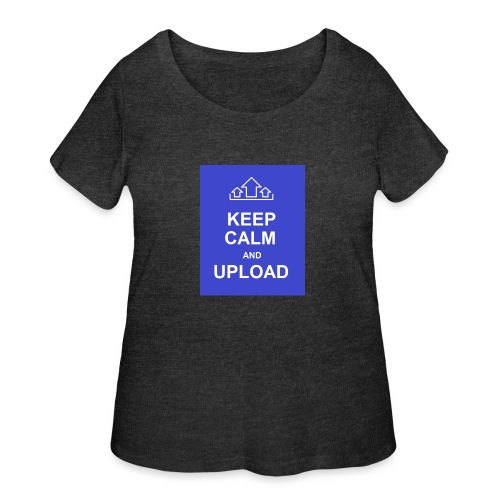 RockoWear Keep Calm - Women's Curvy T-Shirt