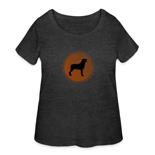 Rottweiler - Women's Curvy T-Shirt