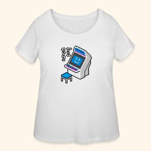 Pixelcandy_BC - Women's Curvy T-Shirt