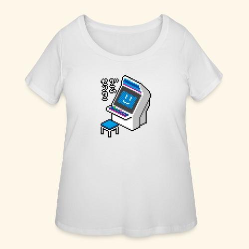 Pixelcandy_BC - Women's Curvy T-Shirt