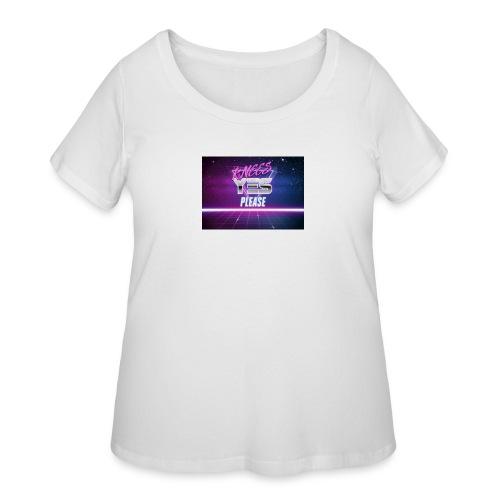 YESH Pweash - Women's Curvy T-Shirt