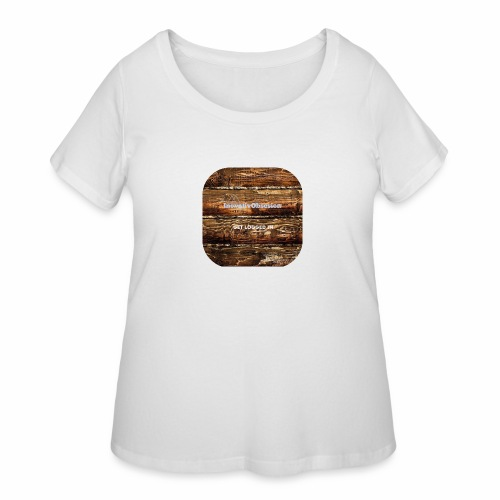 "InovativObsesion ""LOGGED IN"" apparel - Women's Curvy T-Shirt"