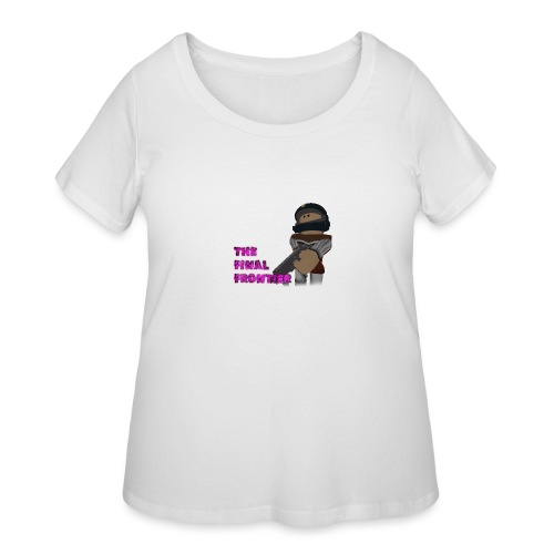The Final Frontier Sports Items - Women's Curvy T-Shirt