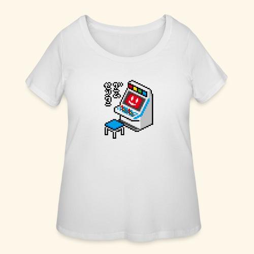 Pixelcandy_MVS - Women's Curvy T-Shirt