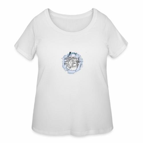 Garbage Truck Work - Women's Curvy T-Shirt