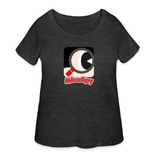 MiceSpy with your eye! - Women's Curvy T-Shirt