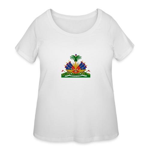Armes de la république - Women's Curvy T-Shirt