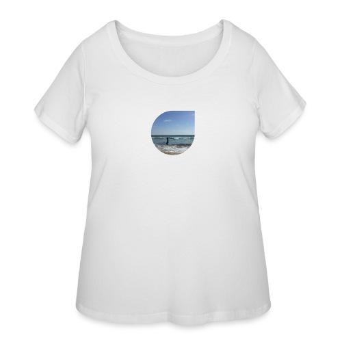 Floating sand - Women's Curvy T-Shirt