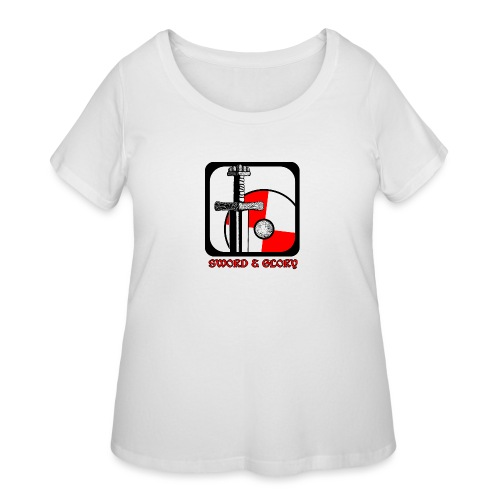 Sword & Glory - Women's Curvy T-Shirt