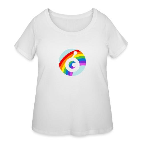 rainbow OST - Women's Curvy T-Shirt