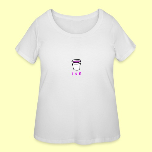 ICE - Women's Curvy T-Shirt
