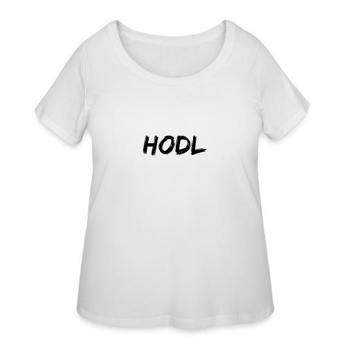 HODL - Women's Curvy T-Shirt